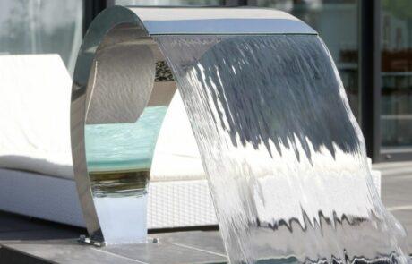 Водопад из нержавейки